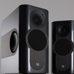 Kii Audio THREE Pro DSP Studio Monitor Pair Graphite Satin