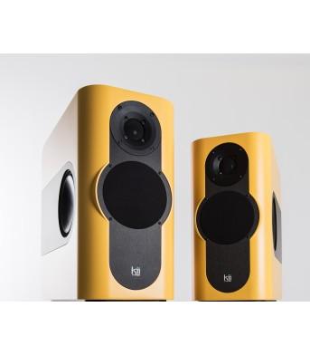 Kii Audio THREE Pro DSP Studio Monitor Pair Yellow Matt