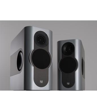 Kii Audio THREE Pro DSP Studio Monitor Pair Silver Matt