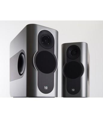Kii Audio THREE Pro DSP Studio Monitor Pair Titanium Semi Gloss