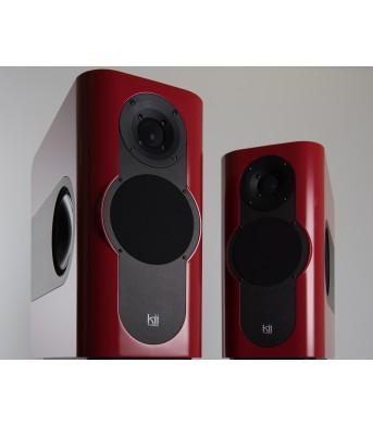 Kii Audio THREE Pro DSP Studio Monitor Pair Cherry Red