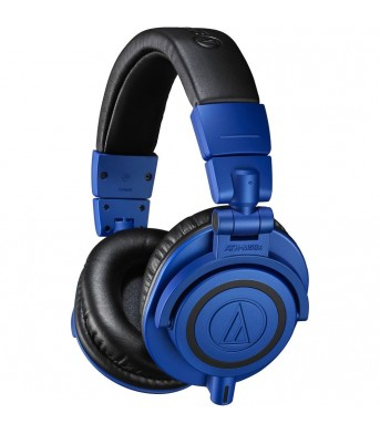 Audio Technica ATH-M50x Blue Ltd Edition Closed Back Studio Headphones