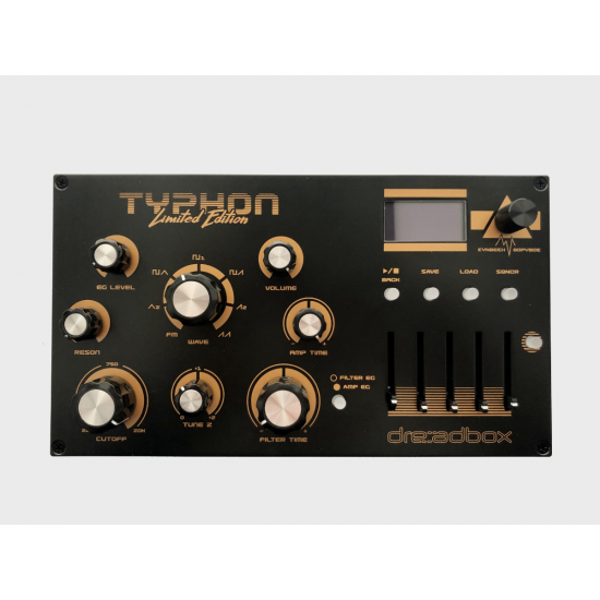 Dreadbox Typhon LTD Edition Mono Synth NEXT BUNCH MID MAY