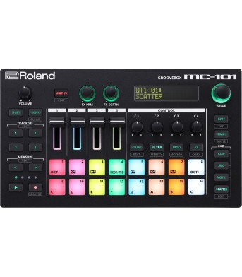 Roland MC 101 Groovebox Music Production Workstation