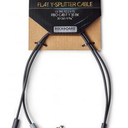 Rockboard Flat Y-Splitter Cable 30 cm