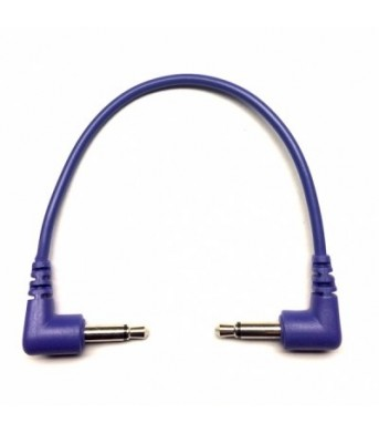 Tendrils Right Angled Eurorack Patch Cable (10cm Indigo) 6 patch