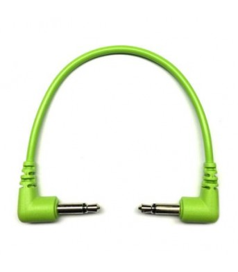 Tendrils Right Angled Eurorack Patch Cable (10cm Lime) 6 patch
