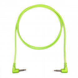 Tendrils Right Angled Eurorack Patch Cable (90cm Lime) 6 patch