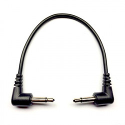Tendrils Right Angled Eurorack Patch Cable (15cm Black) 6 patch
