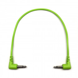 Tendrils Right Angled Eurorack Patch Cable (20cm Lime) 6 patch