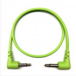 Tendrils Right Angled Eurorack Patch Cable (45cm Lime) 6 patch
