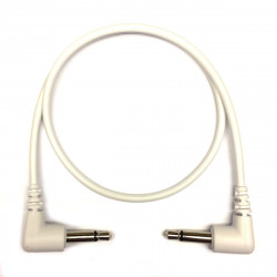 Tendrils Right Angled Eurorack Patch Cable (30cm White) 6 patch