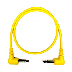 Tendrils Right Angled Eurorack Patch Cable (30cm Yellow) 6 patch