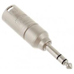 Neutrik NA3 MP: XLR male - Stereo jack male PRE-ORDER