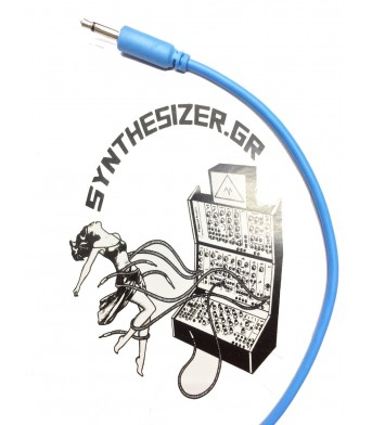 Synthesizer GR 30CM Sky Blue Patch Cable