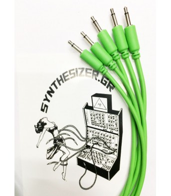 Synthesizer GR 60CM Green Pack 5 Patch Cable
