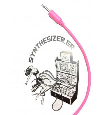 Synthesizer GR 45CM Pink Patch Cable