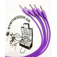 Synthesizer GR 30CM Pack 5 Purple Patch Cable