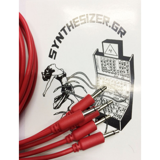 Synthesizer GR 90CM Red Pack 5 Patch Cable