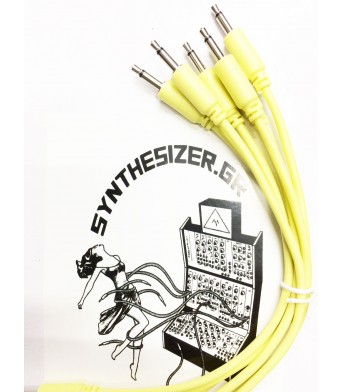 Synthesizer GR 15CM Yellow Pack 5 Patch Cable