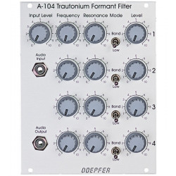 Doepfer A-104 Trautonium Formant Filter