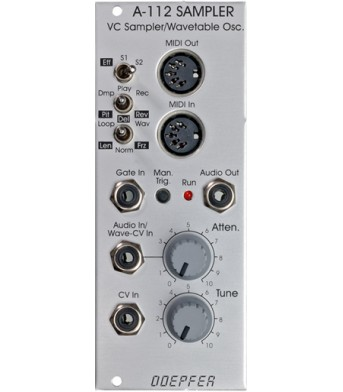 Doepfer A112 Sampler / Wavetable Module