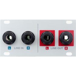 Intellijel Designs Audio IO Jacks 1u