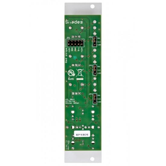 Mutable Instruments Shades Mixer Attenuator