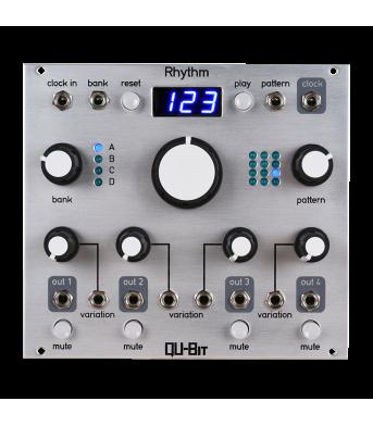 QU-Bit Rhythm 4 Channel Pattern Generator