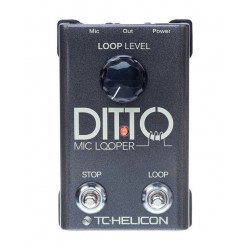 TC Hellicon Ditto Mic Looper