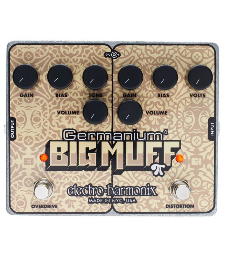 Electro Harmonix Germanium 4 Big Muff Pi Coming Soon Effect