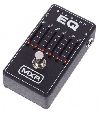 MXR M109 6-Band-EQ Pedal shortly available