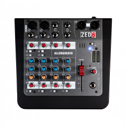 Allen & Heath Zed 6 Analogue Mixing Console