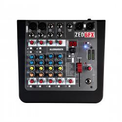 Allen & Heath Zed 6 FX Analogue Mixing Console