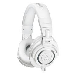 Audio Technica ATH-M50x White Closed Back Studio Headphones