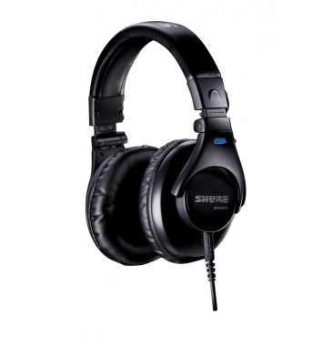 Shure SRH440A Closed Back Studio Headphones