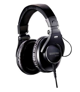 Shure SRH840A Closed Back Studio Headphones