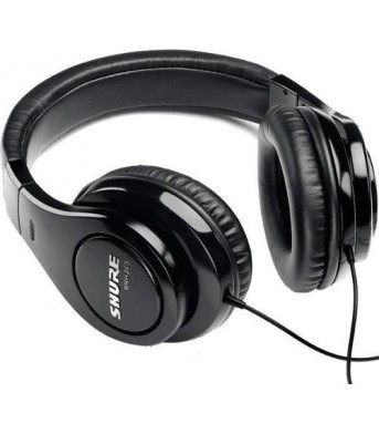 Shure SRH240A Closed Back Studio Headphones
