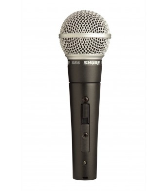 Shure SM58 S Dynamic Microphone