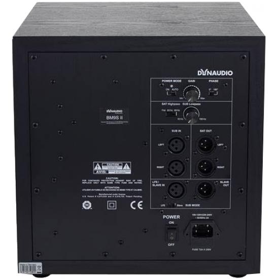 Dynaudio BM9s ii Studio Monitor Sub 1pc PRE-ORDER